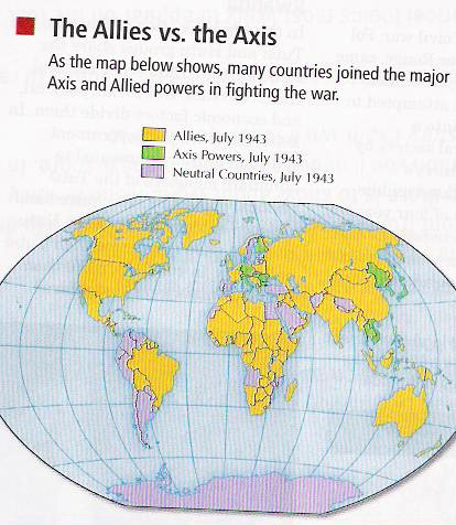 AP World History wiki / Allied Powers vs Axis Powers