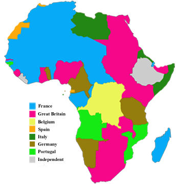 scramble for africa ap essay